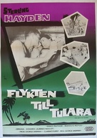 Ten Days to Tulara - Swedish Movie Poster (xs thumbnail)