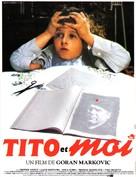 Tito i ja - French Movie Poster (xs thumbnail)