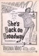 She's Back on Broadway - poster (xs thumbnail)