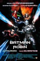 Batman And Robin - Brazilian Movie Poster (xs thumbnail)