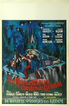 The Wonderful World of the Brothers Grimm - Belgian Movie Poster (xs thumbnail)