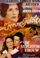 Une femme fidèle - Belgian Movie Poster (xs thumbnail)