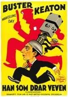 The Cameraman - Swedish Movie Poster (xs thumbnail)