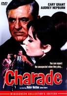 Charade - DVD cover (xs thumbnail)