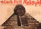 ¡Que viva Mexico! - Polish Movie Poster (xs thumbnail)
