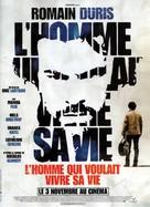 L'homme qui voulait vivre sa vie - French Movie Poster (xs thumbnail)
