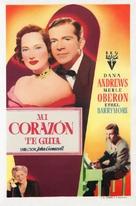 Night Song - Spanish Movie Poster (xs thumbnail)