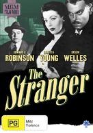 The Stranger - Australian DVD cover (xs thumbnail)