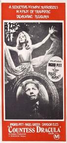 Countess Dracula - Japanese Movie Poster (xs thumbnail)