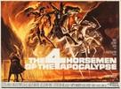 The Four Horsemen of the Apocalypse - British Movie Poster (xs thumbnail)