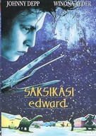 Edward Scissorhands - Finnish poster (xs thumbnail)