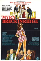 Myra Breckinridge - Argentinian Movie Poster (xs thumbnail)