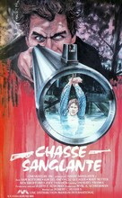 Hunter's Blood - French VHS movie cover (xs thumbnail)