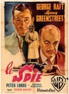 Background to Danger - Italian Movie Poster (xs thumbnail)