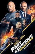 Fast & Furious Presents: Hobbs & Shaw - Indian Movie Poster (xs thumbnail)
