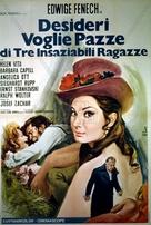 Alle Kätzchen naschen gern - Italian Movie Poster (xs thumbnail)