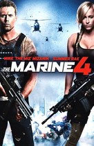 The Marine 4: Moving Target - French DVD movie cover (xs thumbnail)