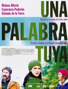 Palabra tuya, Una - Spanish Movie Poster (xs thumbnail)