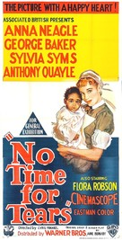 No Time for Tears - Australian Movie Poster (xs thumbnail)