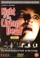 Night of the Living Dead - British DVD movie cover (xs thumbnail)