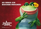 Gnomeo and Juliet - German Movie Poster (xs thumbnail)