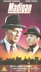 Madigan - British VHS movie cover (xs thumbnail)