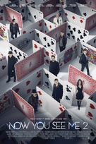 Now You See Me 2 - Danish Movie Poster (xs thumbnail)