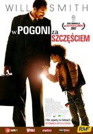 The Pursuit of Happyness - Polish Movie Poster (xs thumbnail)