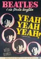 A Hard Day's Night - Swedish Movie Poster (xs thumbnail)