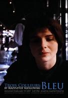 Trois couleurs: Bleu - Canadian Movie Poster (xs thumbnail)