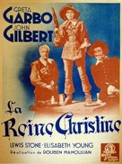 Queen Christina - French Movie Poster (xs thumbnail)