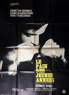 Das Brot der frühen Jahre - French Movie Poster (xs thumbnail)
