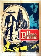 Pedro Páramo - Mexican Movie Poster (xs thumbnail)