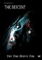 The Descent - DVD cover (xs thumbnail)