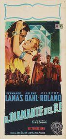 The Diamond Queen - Italian Movie Poster (xs thumbnail)