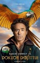 Dolittle - Polish Movie Poster (xs thumbnail)