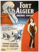 Fort Algiers - Danish Movie Poster (xs thumbnail)
