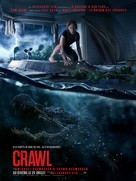 Crawl - French Movie Poster (xs thumbnail)