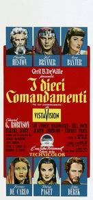 The Ten Commandments - Italian Theatrical poster (xs thumbnail)