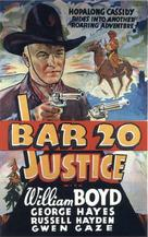 Bar 20 Justice - Movie Poster (xs thumbnail)