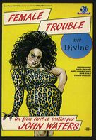 Female Trouble - French Movie Poster (xs thumbnail)