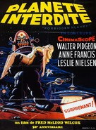 Forbidden Planet - French Re-release poster (xs thumbnail)