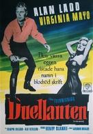 The Iron Mistress - Swedish Movie Poster (xs thumbnail)