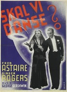 Shall We Dance - Danish Movie Poster (xs thumbnail)