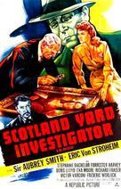 Scotland Yard Investigator - Movie Poster (xs thumbnail)