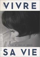 Vivre sa vie: Film en douze tableaux - DVD movie cover (xs thumbnail)