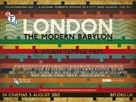London - The Modern Babylon - British Movie Poster (xs thumbnail)