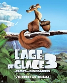 Ice Age: Dawn of the Dinosaurs - French Movie Poster (xs thumbnail)