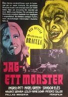 Countess Dracula - Swedish Movie Poster (xs thumbnail)