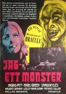 Countess Dracula - Swedish Movie Poster (xs thumbnail)
